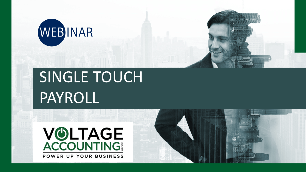 Webinar on Single Touch Payroll